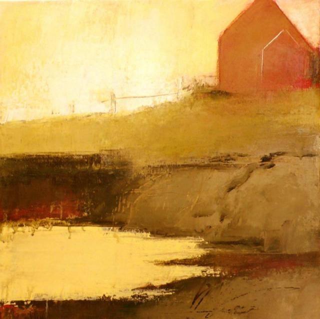 """Nova Scotia #XIV""    Acrylic 18"" X 18"" by Irma Cerese."