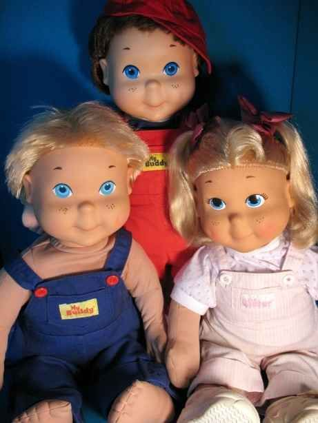 Scary trio. Lol. Jk. My Buddy and Kid Sister | 25 Awesome '80s Toys You Never Got But Can Totally Buy Today