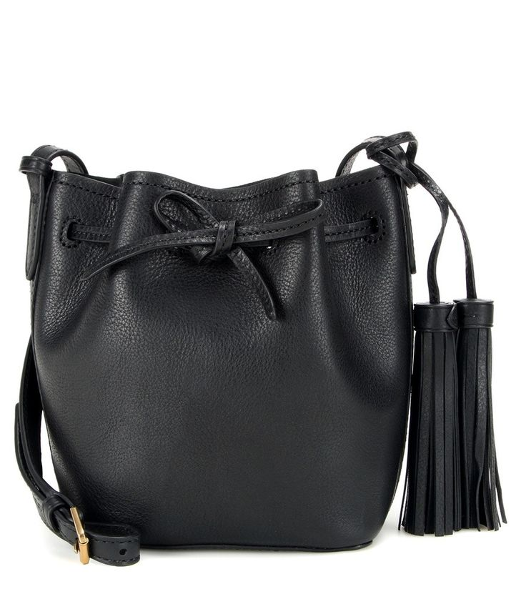 MINI BUCKET-BAG AUS LEDER POLO RALPH LAUREN