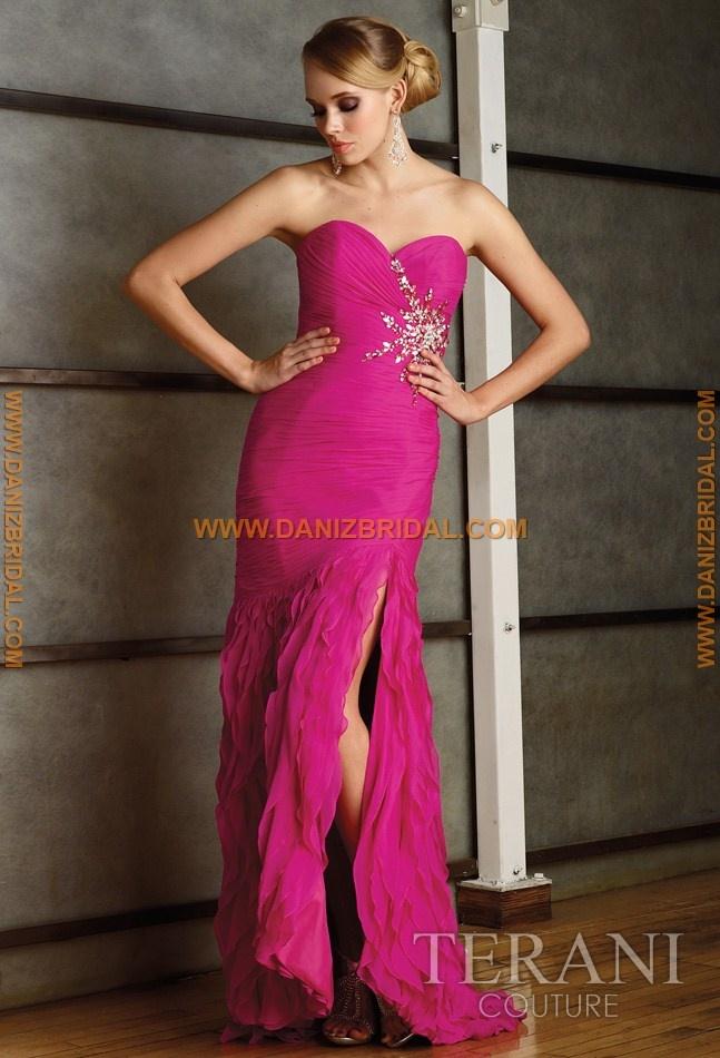 Mejores 90 imágenes de Terani Evening Dresses en Pinterest | Alta ...