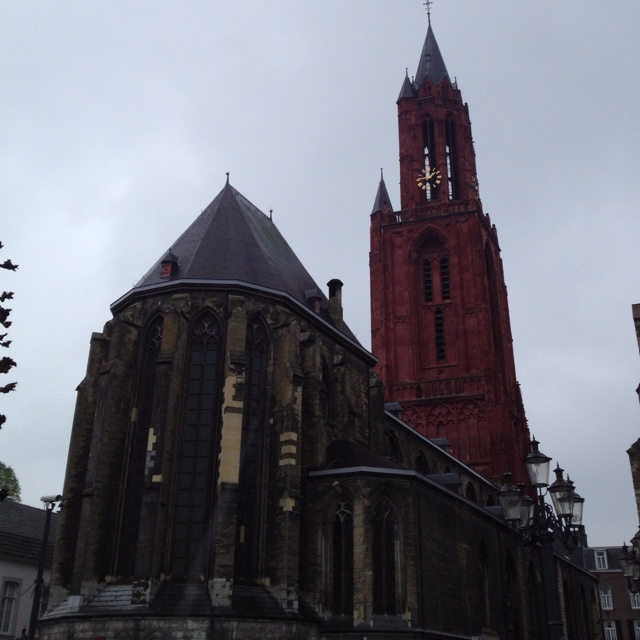 Maastricht - The Pink church.