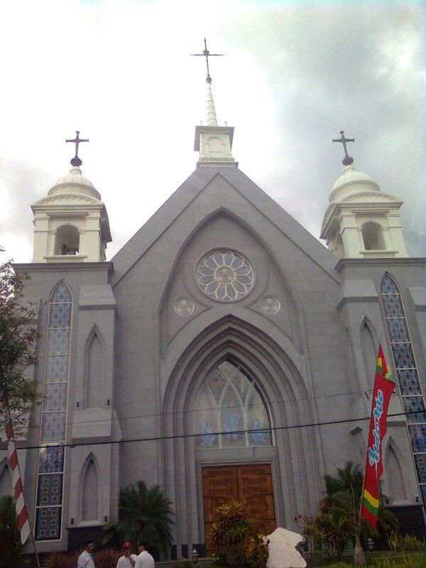 Katolik church Manado. Indonesia