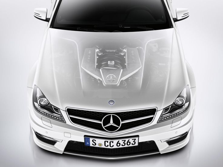 2014 Mercedes C Class Coupe Engine