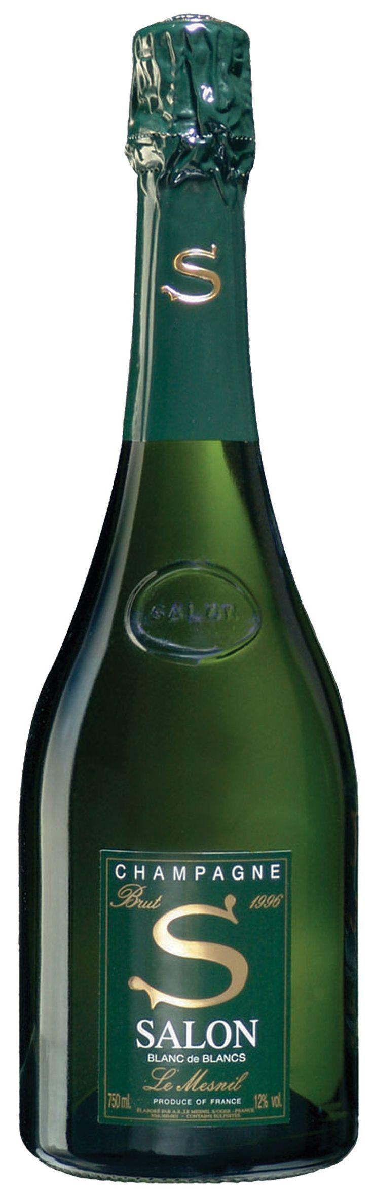 """A bottle of Salon le Mesnil Blanc de Blanc Champagne sent me straight to sparkling-wine heaven..."""