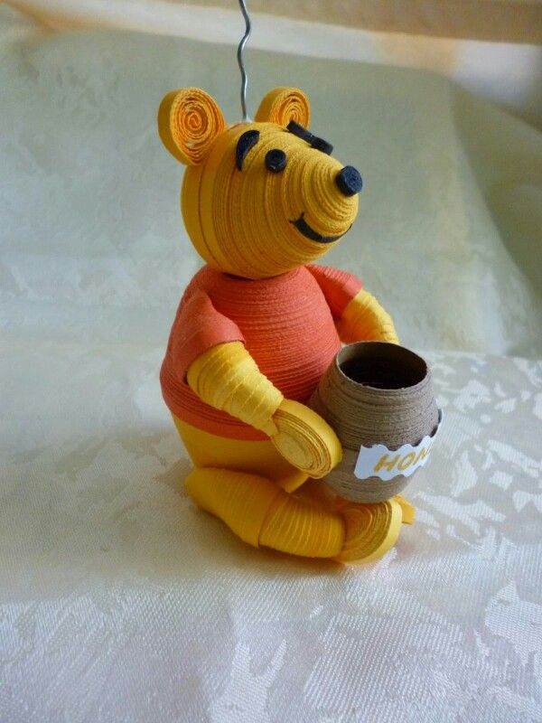 Quilled Pooh!
