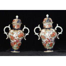 Pair vases: Jabberwocky and Phoenix C1770