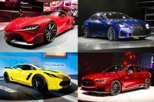 Top Performance Cars of the 2014 Detroit Auto Show - 2014 Detroit Auto Show