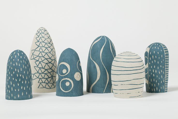 Combined with her love of line and colour, Narayani Palmer creates organic, whimsical ceramic forms inspired by a playful sense of the absurd. Photo: Bo Wong