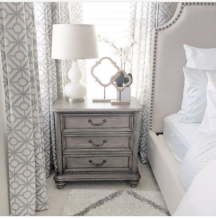 Master Bedroom Grey Bed