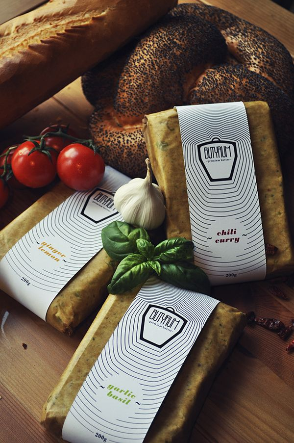 Butyrum premium butter packaging