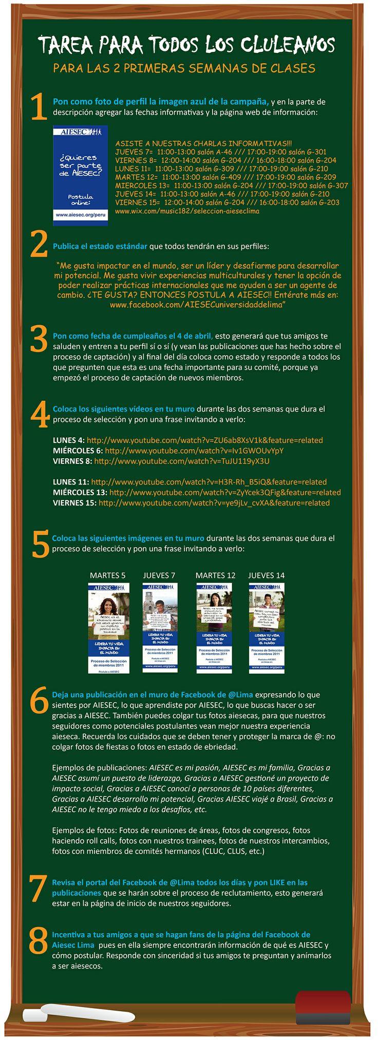 estrategia de difusión Captación 2011
