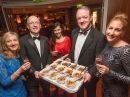 Our Bowl Food dishes being enjoyed by John Murray, Miriam Donohoe, Mick Galway and Siobhan Donohoe at the Little Christmas fundraising event at the Pembroke Hotel, Kilkenny