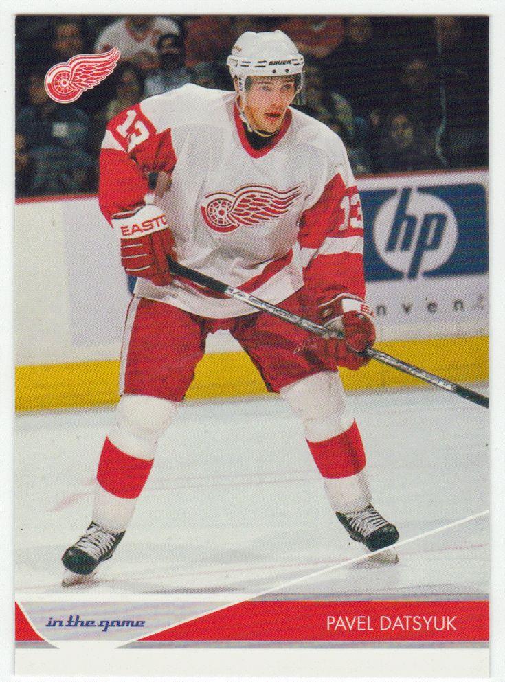 Pavel Datsyuk # 35 - 2003-04 ITG Toronto Star Hockey