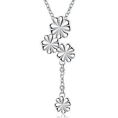 Ожерелье Ожерелья с подвесками Бижутерия Для вечеринок / Повседневные Мода…