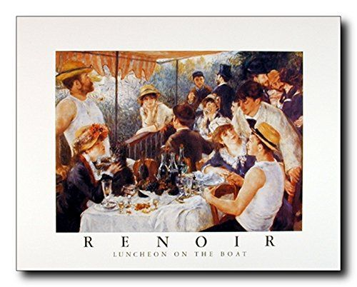 Renoir Luncheon on the Boat Party Impressionist Wall Deco... https://www.amazon.com/dp/B00MOEU5F0/ref=cm_sw_r_pi_dp_x_GdzFybX1ZXMN8