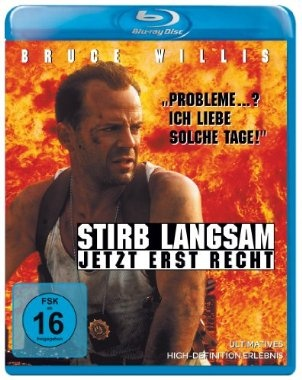 Stirb langsam Jetzt erst recht  1995 USA      IMDB Rating 7,5 (154.236)  Darsteller: Bruce Willis, Jeremy Irons, Samuel L. Jackson, Graham Greene, Colleen Camp,  Genre: Action, Crime, Thriller,  FSK: 16