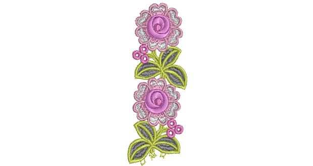 4X4 Floral Embroidery Design 013 | Free Embroidery Designs