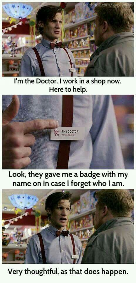 30 Doctor Who Funny Quotes