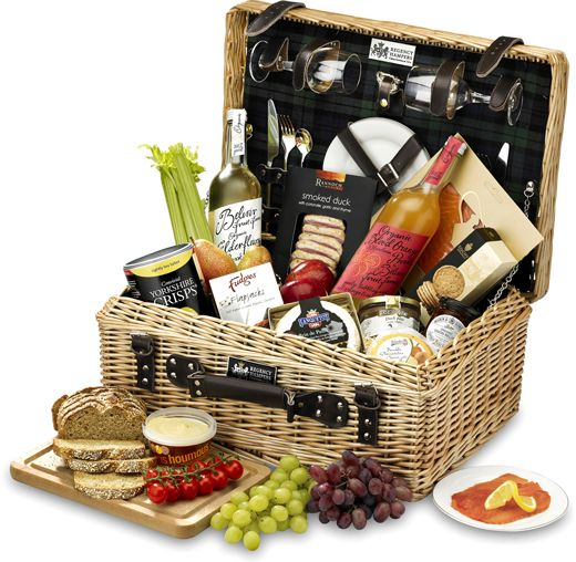 The Alcohol-Free Epicurean Picnic Hamper
