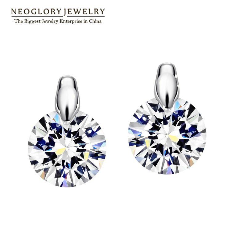 Neoglory fascino orecchini svegli della vite prigioniera regali di cerimonia nuziale di modo delle donne della ragazza da sposa shopping online gioielli indiani 2017 nuovo ea1 simp-e p1