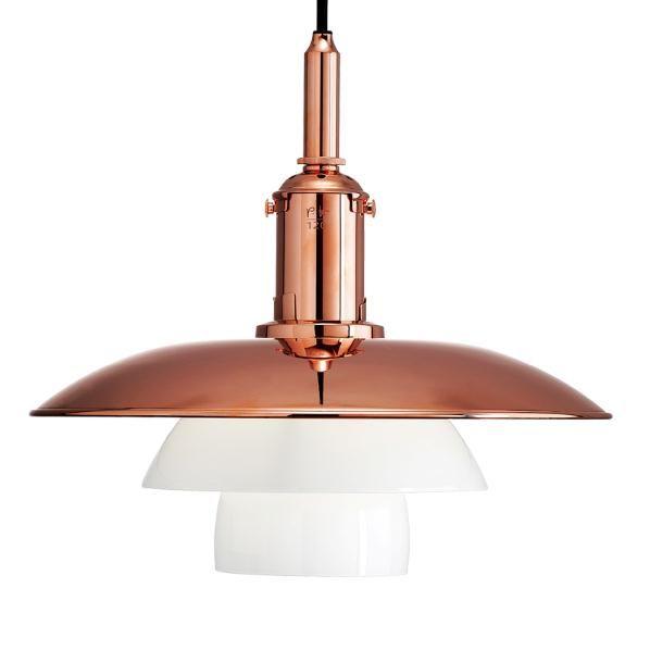 ph kobber loftlampe
