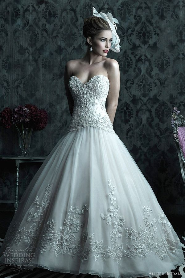 17 best Wedding gown images on Pinterest | Wedding frocks, Wedding ...