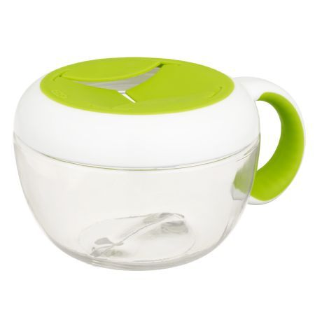 Oxo Tot Flippy Cup - The cut open top is just the right size for little hands to get snacks out.
