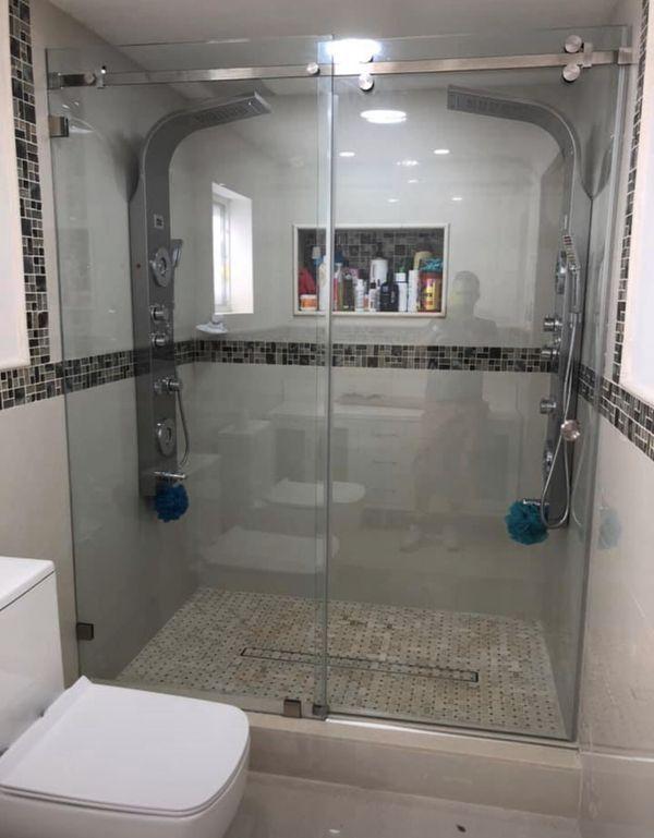 Shower Door For Sale In Miami Fl En 2020 Puertas De Cristal