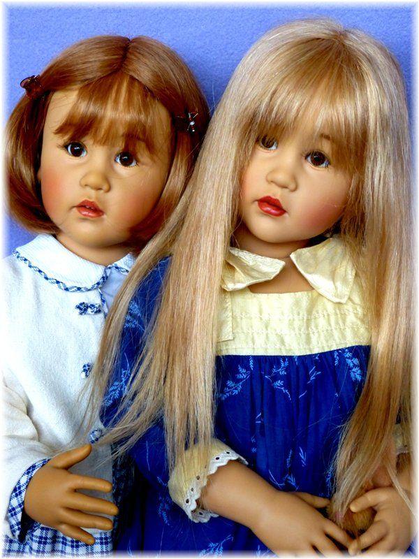 Коллекционная кукла Lotti от Sissel Bjorstadt Skille, GÖTZ / Коллекционные куклы Sissel Bjorstadt Skille / Бэйбики. Куклы фото. Одежда для кукол