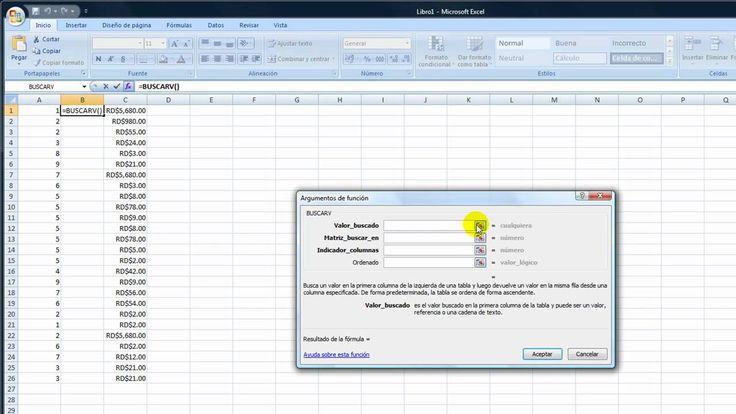 Como usar la función BuscarV  o vlookup en Excel Paso a Paso #AhorroeInversion