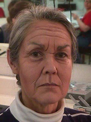 Old Age Makeup: wonderful use of shadow and highlight to create wrinkles