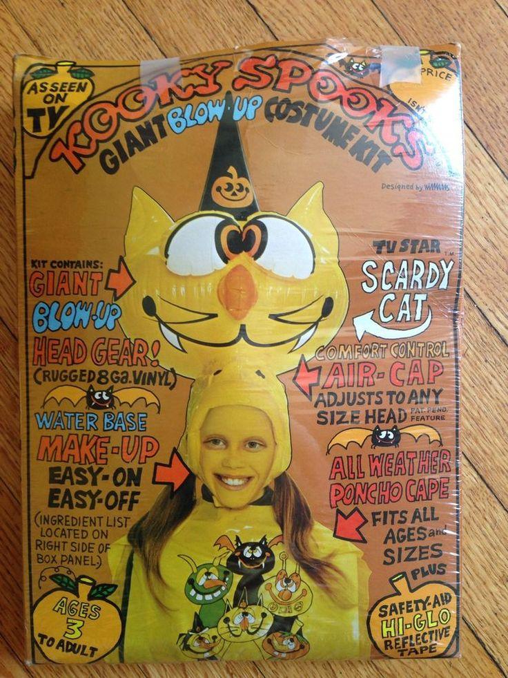 Vintage Kooky Spooks Inflatable Costume Inflatable