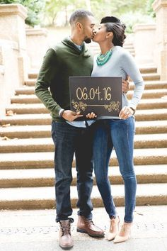 Sentimental Outdoor Engagement Session in Meridian Hill Park: Danielle + Adam