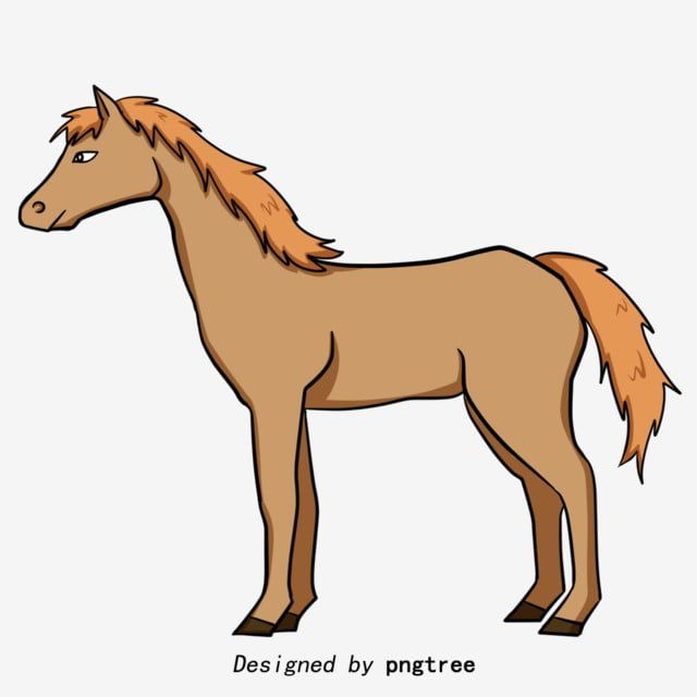 Brown Hand Painted Cartoon Horse Horse Clipart Animal Illustration Cartoon Png Transparent Clipart Image And Psd File For Free Download Animal Illustration Cartoon Clip Art Horse Posters