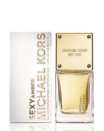 Michael Kors SEXY AMBER Eau de Parfum Spray – 1.0 oz, 30 mL.