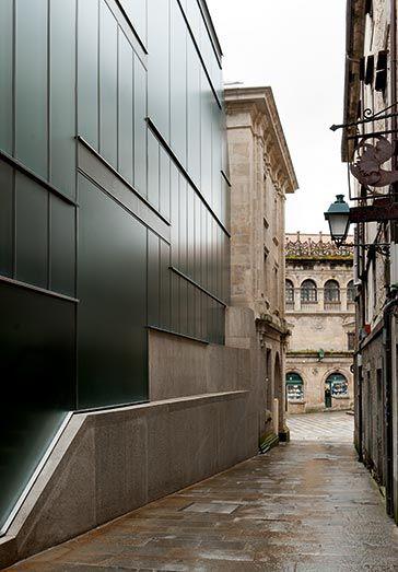 Museo de las peregrinaciones santiago de compostela - Arquitectos en santiago de compostela ...
