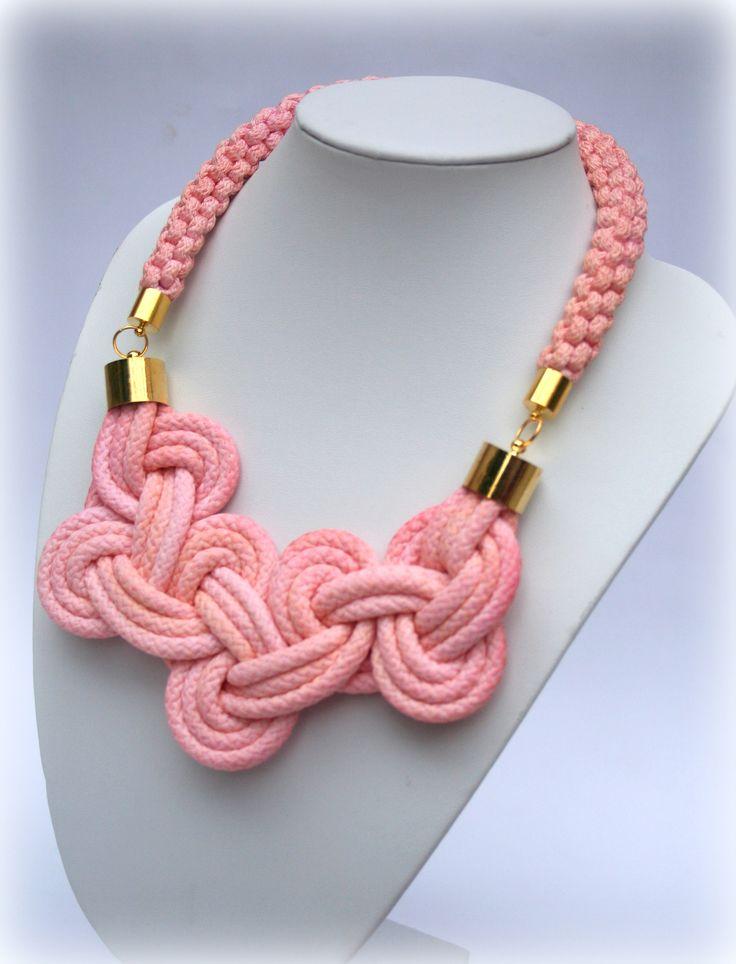 knot rope necklace https://www.facebook.com/Folenta?ref=hl