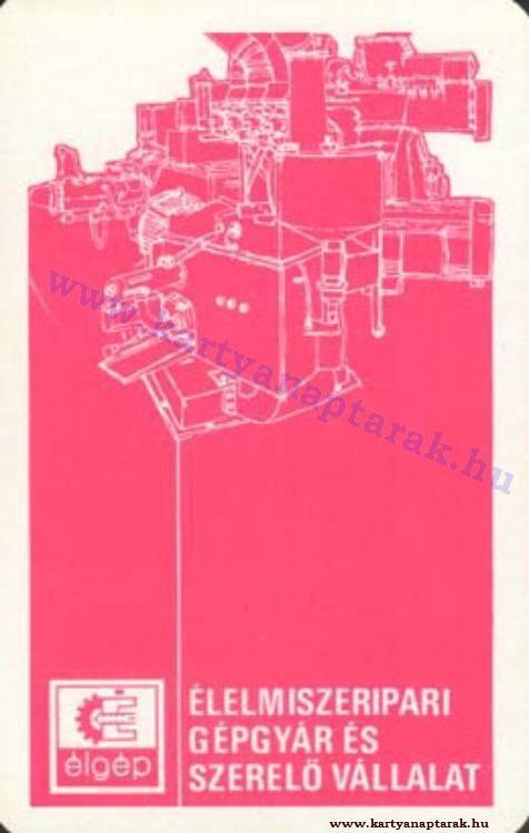 1977 - 1977_0712 - Régi magyar kártyanaptárak