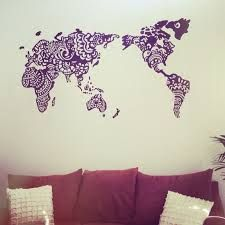henna wall mural - Google Search