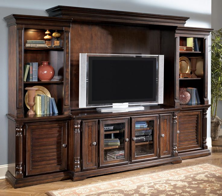 Ashley Entertainment Centers Wall Unit Previous In