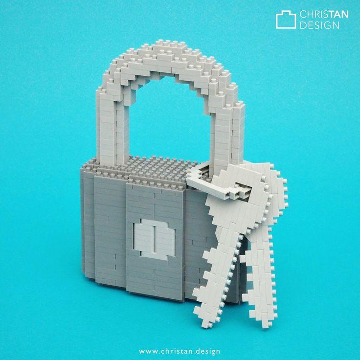 nanoblock Padlock