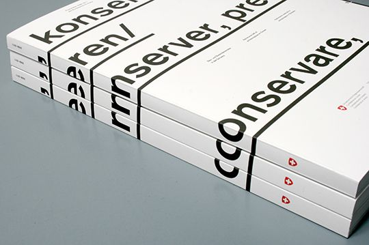 Restoration, Preservation, Presentation by Emphase Sàrl , via Behance