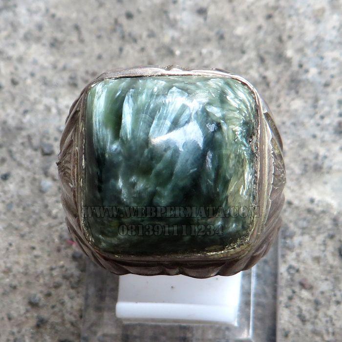 Batu Bulu Macan Seraphinite