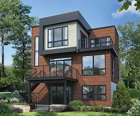 161 best images about modern house plans on pinterest for 1500 sq ft modern house