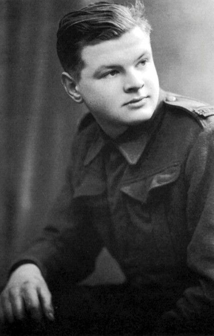 Amazing to see photos like this of those long passed. Gives a sense of nostalgia but also makes the person seem real not just an act on TV.     Benny Hill in the army