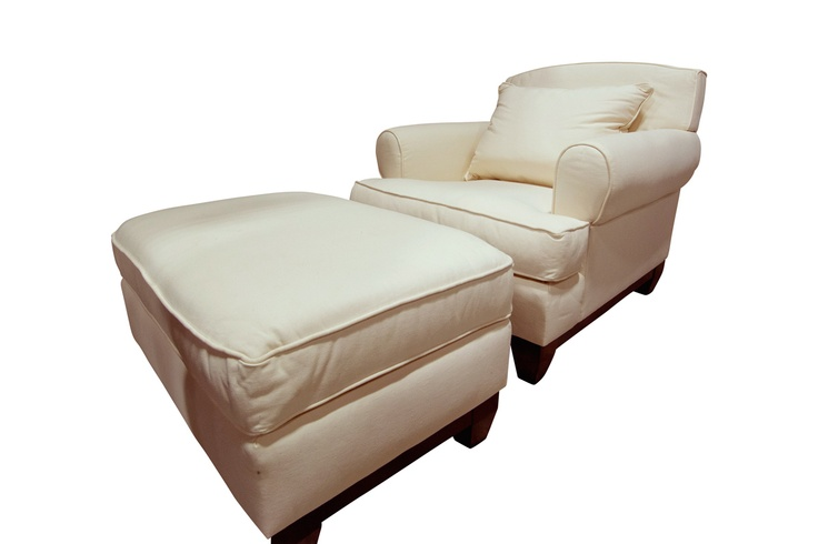 Comfort Chair-And-A-Half with Ottoman  Furniture  Pinterest