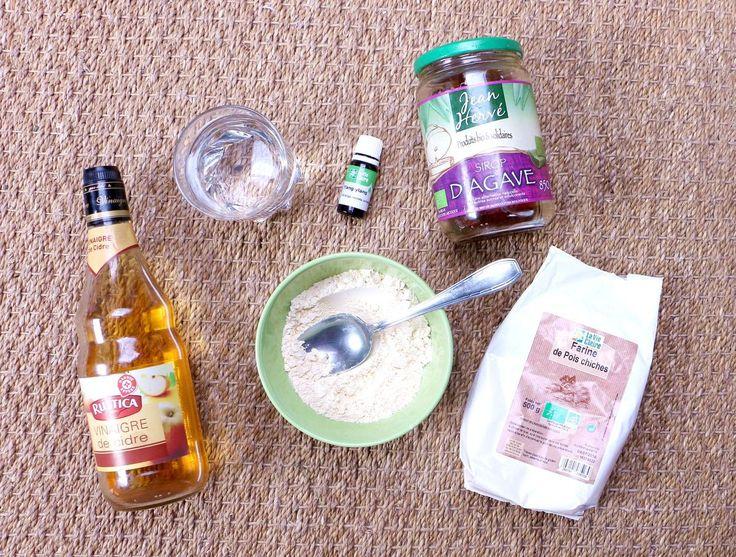 No-poo : une recette de shampoing fait-maison & vegan