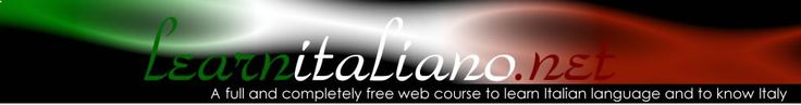Learn Italian Language with a free web course and know more about Italy: www.learnitaliano...