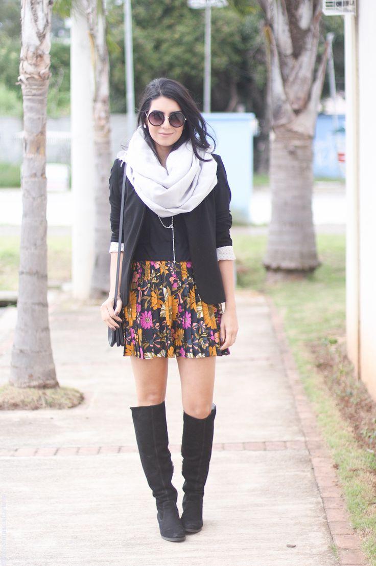 Look: A saia mais linda do mundo! *—*