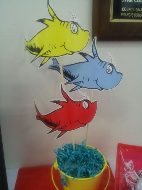 35 best One fish two fish red fish blue fish images on